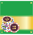 Playing chips vector | Price: 1 Credit (USD $1)