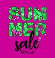 summer sale bunner 1 vector image vector image