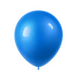 3d realistic colorful balloon holiday of flying vector image vector image