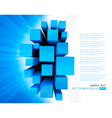 Business elegant abstract vector image vector image