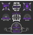 Vintage Craft Beer Brewery Logo and Badge