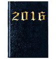 2016 diary cover