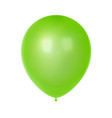 3d realistic colorful balloon birthday balloon vector image