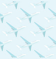 abstract airplane transportation seamless pattern vector image