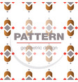 abstract geometric pattern and background vector image vector image