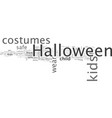 are your kids halloween costume safe vector image vector image