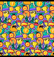 Awards color seamless pattern