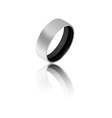 Black ring vector image vector image