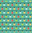 christmas light bulbs seamless pattern colorful vector image
