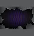 crack metal background vector image