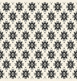 geometric seamless pattern in ethnic style vector image vector image