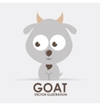 goat design vector image