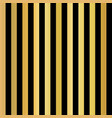 gold foil stripes vertical lines seamless black vector image vector image