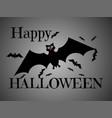 happy halloween design background vector image vector image