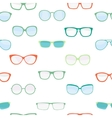 Hipster Summer Sunglasses Fashion Glasses vector image