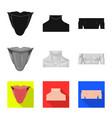 human and part symbol set vector image