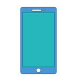 smartphone device technology display electronic vector image