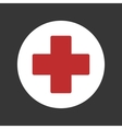 first aid medical sign icon vector image
