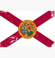 florida state flag vector image
