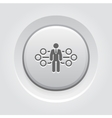 Flow Management Icon vector image