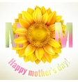 Happy Mothers day Background EPS 10 vector image vector image