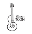 Icon with guitar