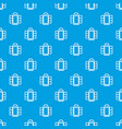 open narrow window frame pattern seamless vector image vector image
