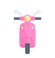 scooter pink version vector image