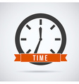 time design vector image vector image