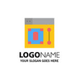 web design designer tool business logo template vector image