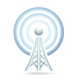 wi-fi tower icon vector image