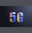 5g network wireless systems and internet in vector image vector image