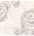 abstract swirls background vector image vector image