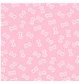 bone wallpaper on pink background vector image vector image