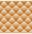 Brown rhomb seamless pattern vector image vector image