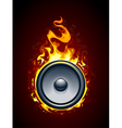 Burning speaker vector | Price: 3 Credits (USD $3)