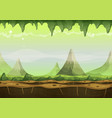 fantasy sci-fi alien landscape for game ui vector image vector image