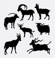goat animal silhouette
