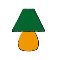green lamp home decoration electric vector image vector image