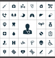medical icons universal set for web and ui vector image