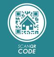 Scan QR Code design vector image vector image