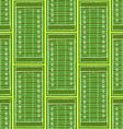 Sketch football field pattern vector image