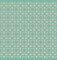 vintage seamless pattern green ethno folk vector image vector image