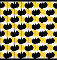 yellow and black abstract geo shapes decor vector image vector image