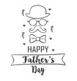 collection stock father day doodle style vector image vector image