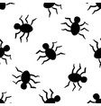 halloween seamless pattern in elements of doodle vector image vector image