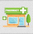 pharmacy drugstore shop store pharmacy on vector image vector image