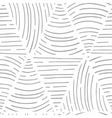 Seamless pattern with hand drawn lines Triangle vector image
