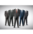 Businessman in Suit vector image vector image