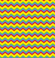 Chevron bright colors vector image vector image